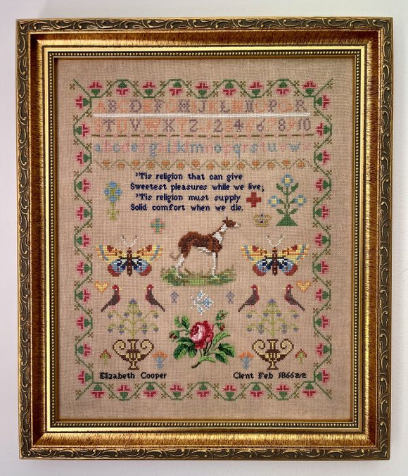 Elizabeth Cooper 1866 | Fox & Rabbit Designs - Needlework Expo