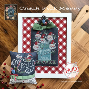 Chalk Full: Merry | Hands on Design