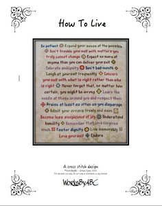 How to Live | WorksByABC Nashville 2020 Release