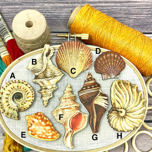 She Sells Seashells Needle Minder