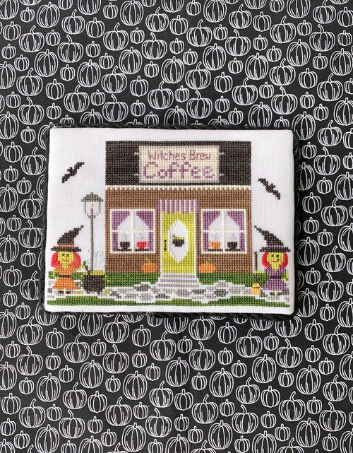 Coffee Shop | Little Stitch Girl Spooky Hollow #2