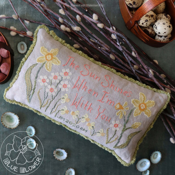 Language of Flowers Spring | The Blue Flower - Needlework Expo