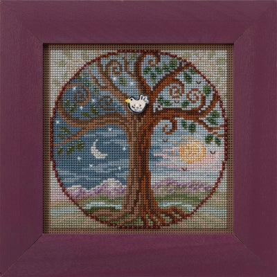 Mill Hill Tree of Life | Buttons and Bead Cross Stitch Kit