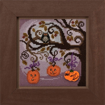 Mill Hill Pumpkin Tree | Buttons and Bead Cross Stitch Kit