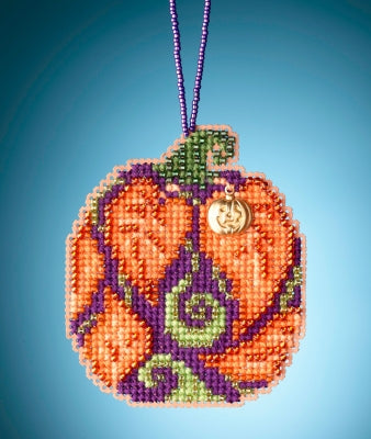 Mill Hill Autumn Pumpkin | Mill Hill Beaded Ornament Kit
