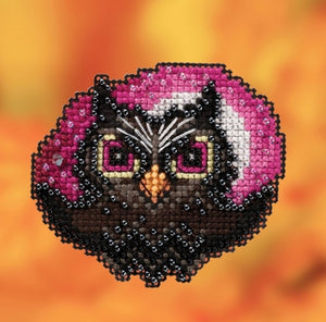 Mill Hill Moonlit Owl | Mill Hill Beaded Ornament Kit