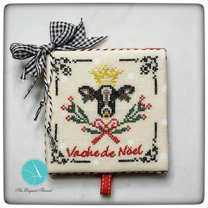 Pre-Order:The Moo the Merrier - Vache de Noel | The Elegant Thread - Needlework Expo