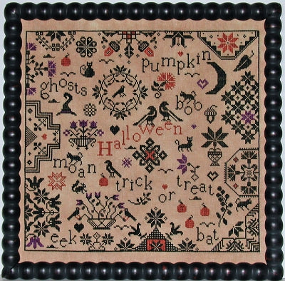 Simple Gifts Quaker - Halloween | Praiseworthy Stitches