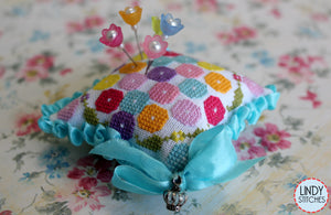 Penelope's Posies Pincushion | Lindy Stitches