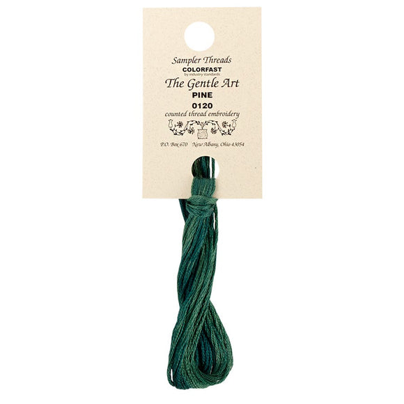 Pine | The Gentle Art Simply Shaker - Hand-Dyed Embroidery Floss