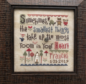 Smallest Things Sampler - with embellishments | Heart in Hand Nashville 2020 Release