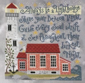 Pre-Order: Lighting the Way | Silver Creek Samplers - Needlework Expo