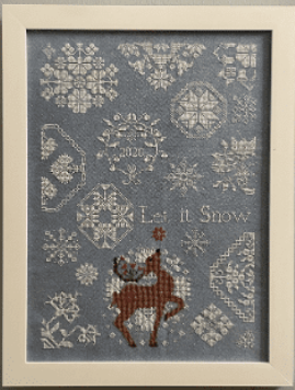 Let It Snow | AuryTM Designs - Needlework Expo 2021