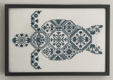 Quaker Turtle | AuryTM Designs - Needlework Expo 2021
