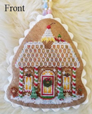 Pre-Order: Gingerbread Valley Part 1 (2-sided ornament) | Blackberry Lane - Needlework Expo