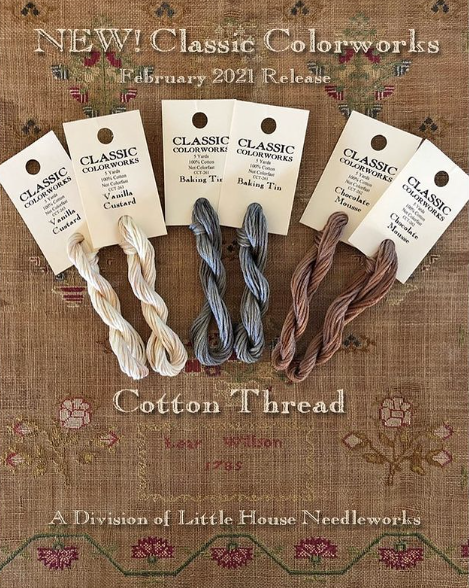 Pre-Order: New Colors! Vanilla Custard, Baking Tin, & Chocolate Mousse | Classic Colorworks
