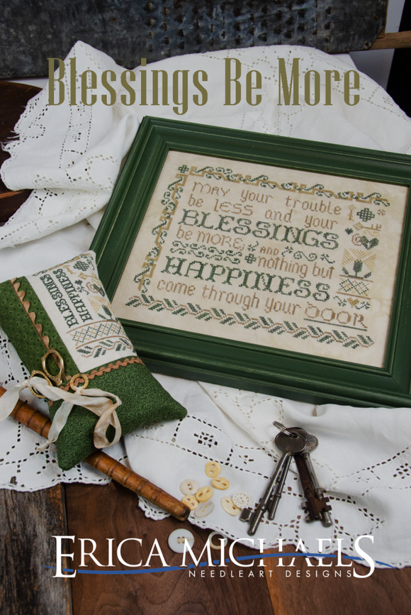 Blessings Be More | Erica Michaels - Needlework Expo