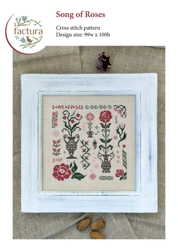 Song of Roses | Factura Designs Cross-Stitch Pattern