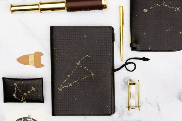 Stitch Your Star Sign Notebook | Chasing Threads