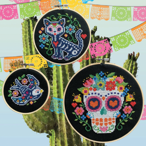 Day of the Dead Trio | Tiny Modernist (3 Designs Included)