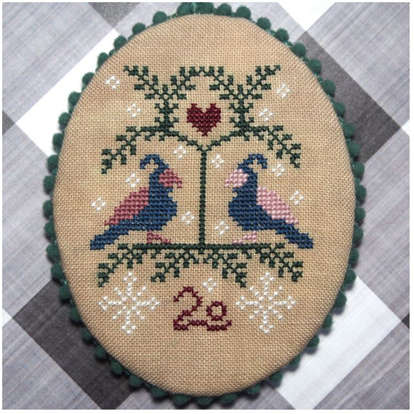 Two Snow Birds | Bendy Stitchy Designs