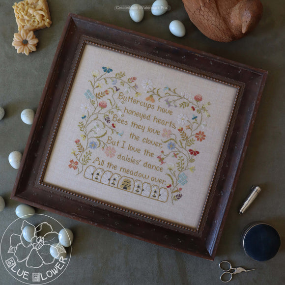Pre-Order: Wildflowers | The Blue Flower - Needlework Expo