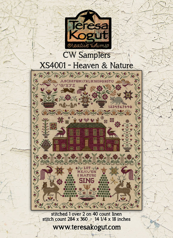 Heaven & Nature, Creative Whims Samplers | Teresa Kogut Nashville 2020 Release