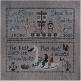 Friendship Sampler | Bendy Stitchy & Blue Flower Collaboration, Nashville 2020 Release