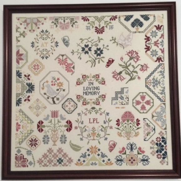 Sampler for My Mother | AuryTM Designs
