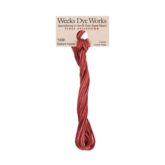 Baked Apple | Weeks Dye Works - Hand-Dyed Embroidery Floss