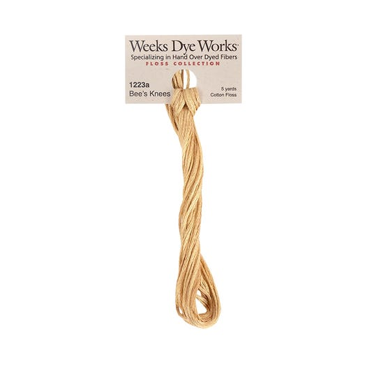 Bee's Knees | Weeks Dye Works - Hand-Dyed Embroidery Floss
