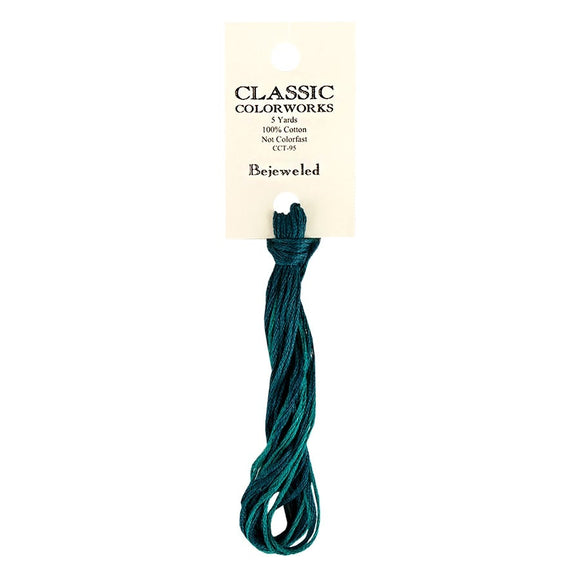Bejeweled Classic Colorworks Thread | Hand-Dyed Embroidery Floss