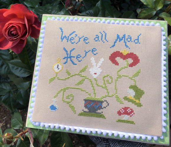 Alice's Mad Plant | Bendy Stitchy Designs Cross-Stitch Chart