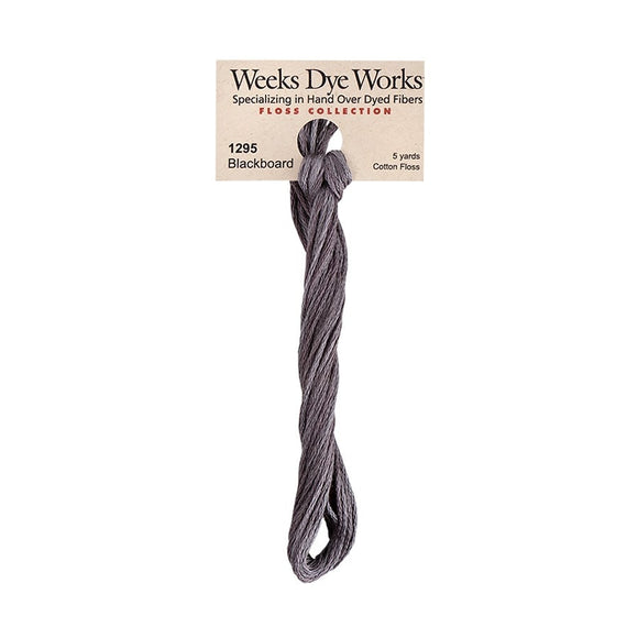 Blackboard | Weeks Dye Works - Hand-Dyed Embroidery Floss