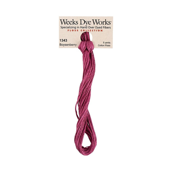 Boysenberry | Weeks Dye Works - Hand-Dyed Embroidery Floss