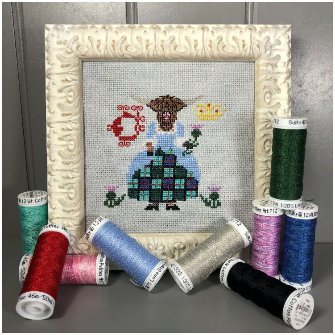 Pre-Order: Thistle the Heilan Coo - The Moo the Merrier | Bendy Stitchy - Needlework Expo