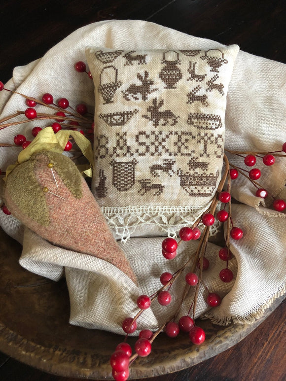 Bunnies & Baskets | Shakespeare's Peddler - Needlework Expo