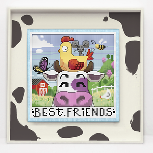 Best Friends - The Moo The Merrier | Autumn Lane Stitchery - Needlework Expo