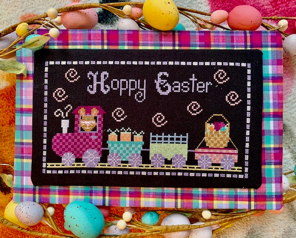 Pre-Order: Hoppy Easter | Pickle Barrel Designs - Needlework Expo