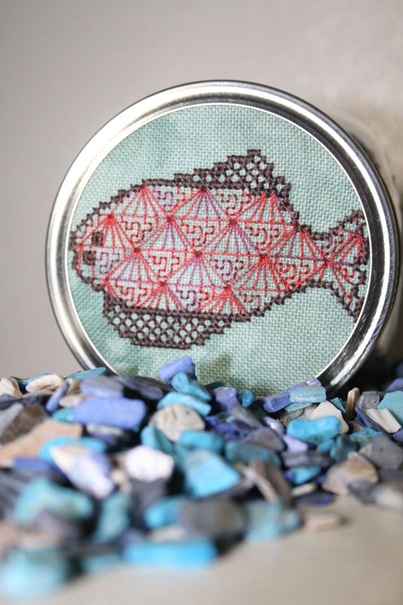 Pre-Order: Hank the Halibut | Jonesey Stitchery - Needlework Expo