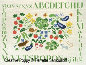 Spring Vegetable Patch | Perrette Samouiloff