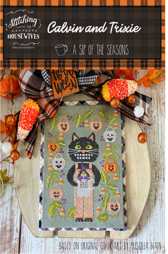 New! Calvin & Trixie - Sip of the Seasons | Stitching with the Housewives