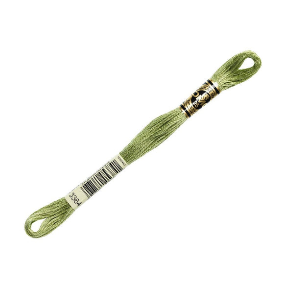 DMC 3364 Pine Green | 6 Strand Embroidery Floss