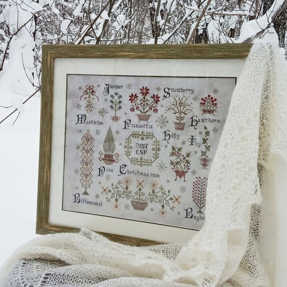 Christmas Botanicals | Factura Designs Cross-Stitch Pattern