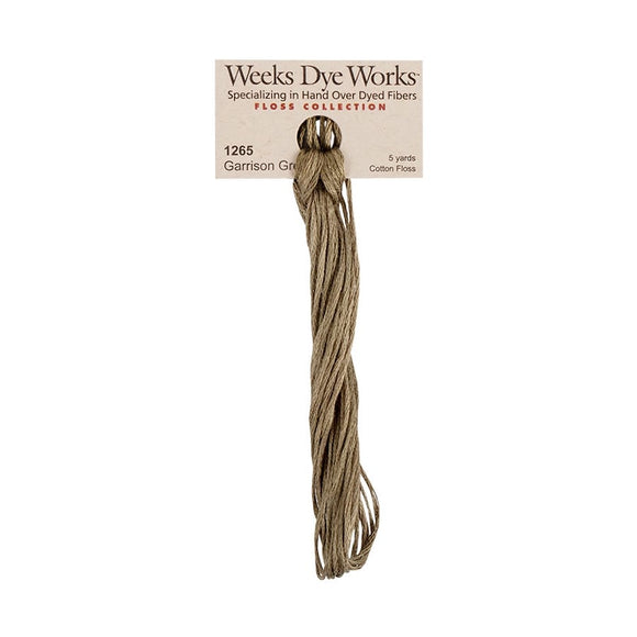 Garrison Green | Weeks Dye Works - Hand-Dyed Embroidery Floss