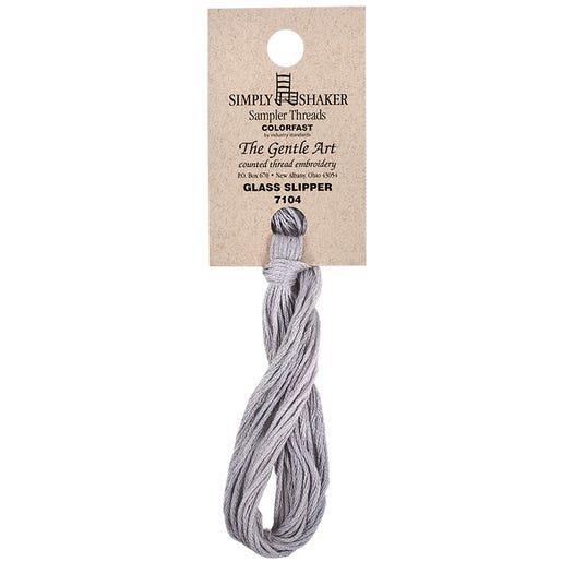 New Color! Glass Slipper | The Gentle Art Simply Shaker - Hand-Dyed Embroidery Floss