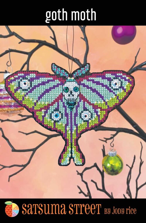 Goth Moth Ornament Kit | Satsuma Street