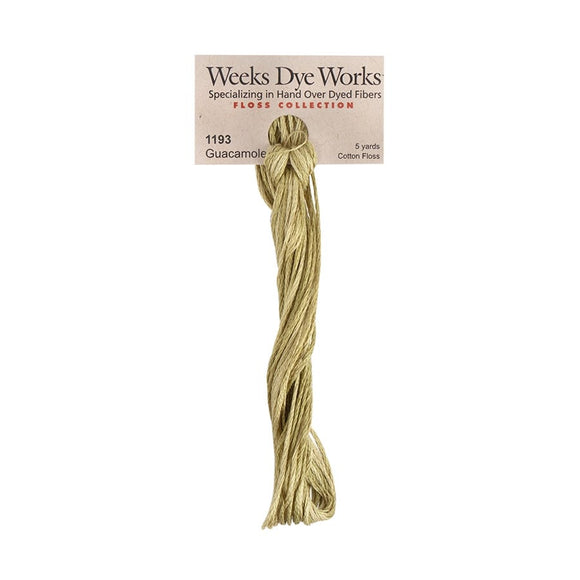 Guacamole | Weeks Dye Works - Hand-Dyed Embroidery Floss