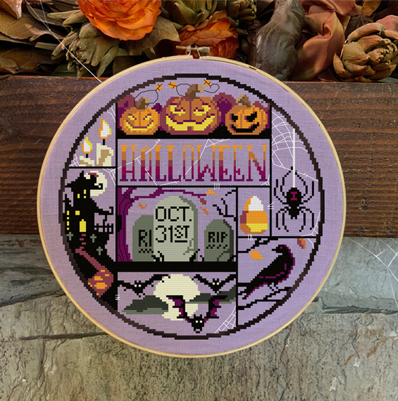 Halloween Night | Autumn Lane Stitchery Nashville 2020 Release