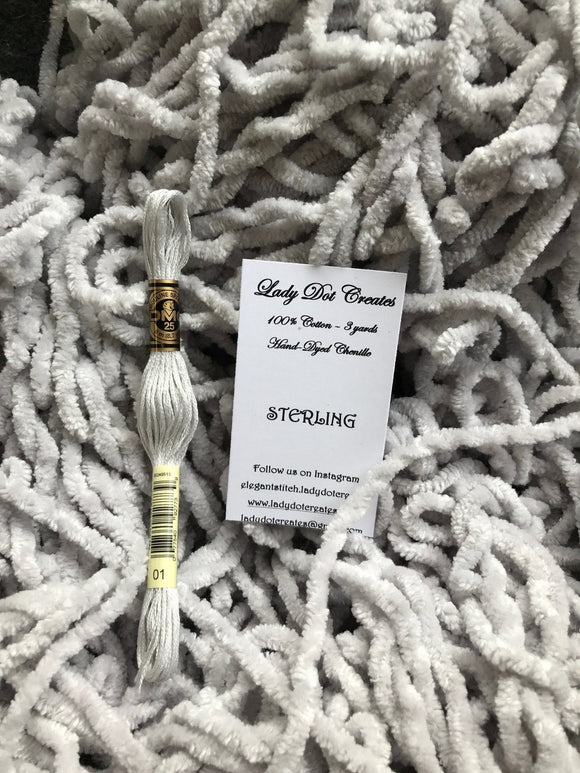 Sterling Chenille Trim | Lady Dot Creates